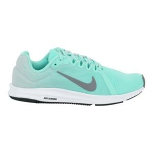 NIB Nike turquoise teal Downshifter 8 Running Shoe